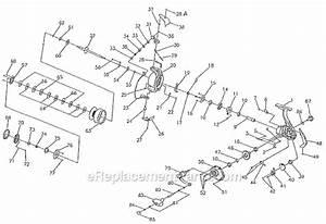 Pflueger 6750 Parts List And Diagram   Ereplacementparts Com
