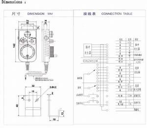 Calt Cnc Control Hand Wheel Encoder Tm1474