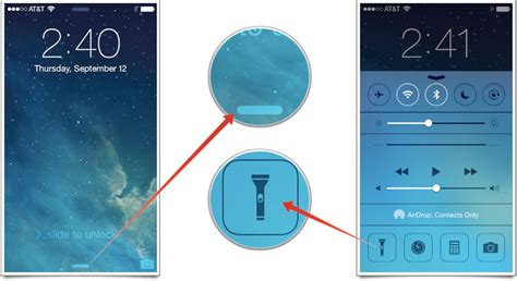 how to turn flashlight on iphone how you can rapidly turn your apple iphone right into a