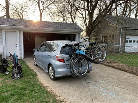 So you are all ready and fully packed up for your biking adventure in your sporty honda fit so can there really be only one best bike rack for a honda fit ? Trunk Bike Rack - Unofficial Honda FIT Forums
