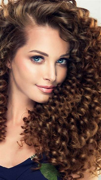 Curly Hair Wallpapers Brunette Cave Vision Source