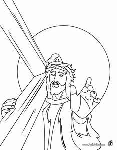 Jesus Christu002639s Crown Of Thorns Coloring Pages Hellokidscom