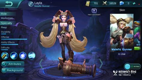 [new] Layla New Model & Alucard Child Of The Fall Skin