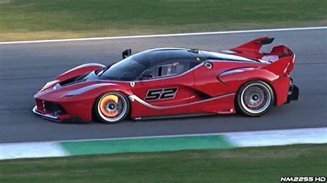 Ferrari Fxx K Glowing Brakes, Flames & Loud Downshifts