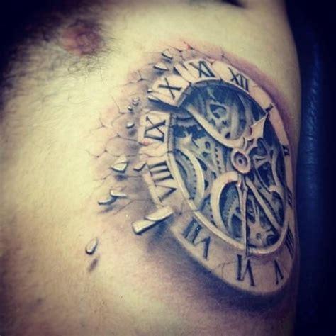 Tatouage Horloge, Modèle De Tatouages D'horloge Homme & Femme