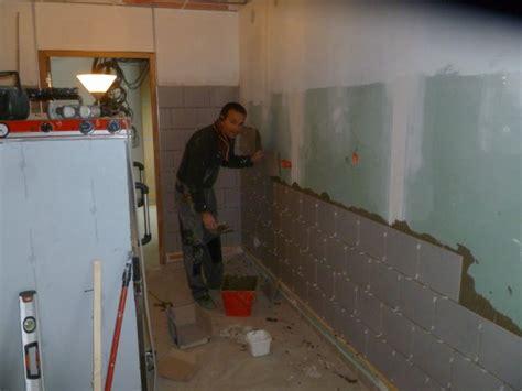 pose de la fa 239 ence murale de au domaine de cauvicourt