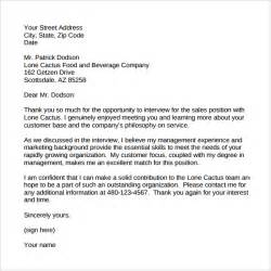 Thank You Letter Sle by Thank You Letter Sle To Customer 28 Images Outbound Excellence Sales Management Account
