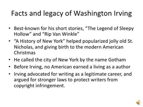 washington irving facts