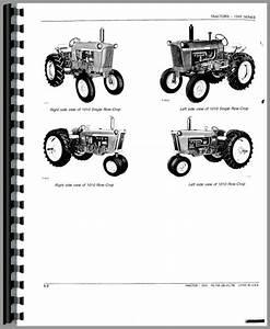 John Deere 1010 Tractor Parts Manual