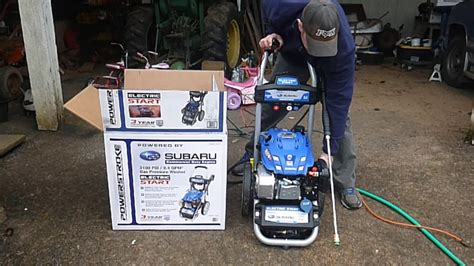 Review Of The Power Stroke 3100 Psi 2.4 Gpm Electric Start