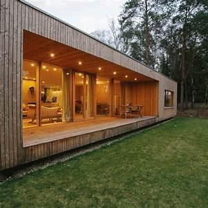Kleines Holzhaus Bauen : modernes holzhaus bungalow ~ Sanjose-hotels-ca.com Haus und Dekorationen