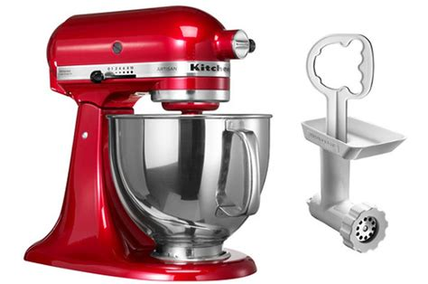 hachoir de cuisine patissier kitchenaid eca hachoir 5fga bundle