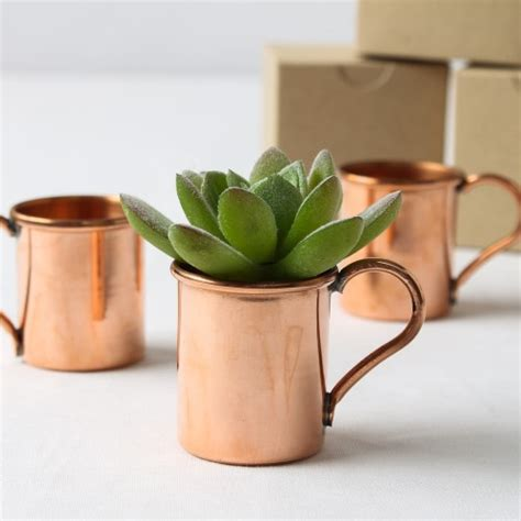 Mini Moscow Mule Mini Copper Mug Favor Mini Copper Mugs