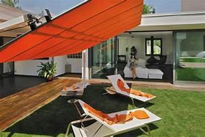 Grand Parasol Rectangulaire : parasol autoportant modulaire store orientable flexy par fim ~ Teatrodelosmanantiales.com Idées de Décoration