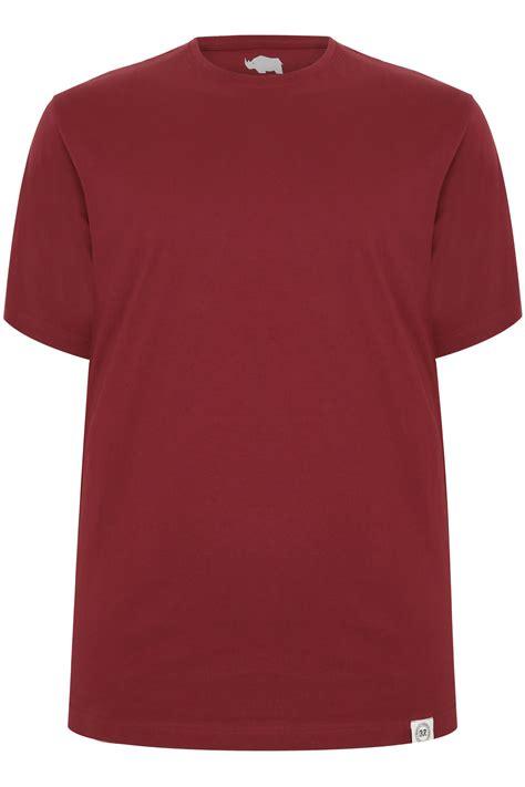 burgundy t shirt s badrhino burgundy crew neck basic t shirt sizes l to 8xl