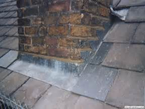 Lead Flashing around Chimney