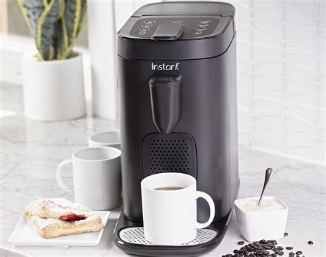 The instant pod coffee maker takes pods from the two biggest names in the biz. Instant Brands' new Instant Pod 2-in-1 is a coffee and espresso maker