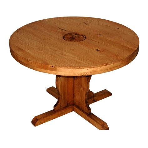 Popular Rustic Round Dining Table Decorating Ideas For