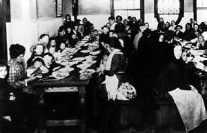 Immigrants Arriving Ellis Island 1892