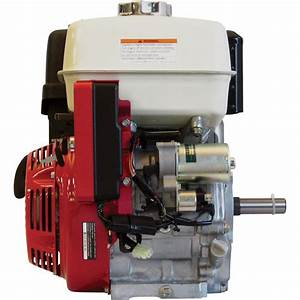 Honda Horizontal Ohv Engine With Electric Start  U2014 389cc