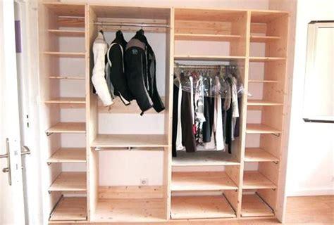 grand fabriquer armoire faire un dressing soi meme mee home comment construire design de