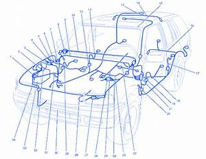 Isuzu Rodeo Ls 2000 Engine Electrical Circuit Wiring