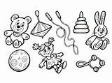 Toys Coloring Pages Raskraski sketch template