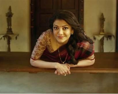 Actress Kajal Gifs Saree Agarwal Indian Desi