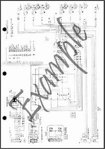 1984 Ford F150 F250 F350 Wiring Diagram 84 Pickup Truck Electrical Schematic