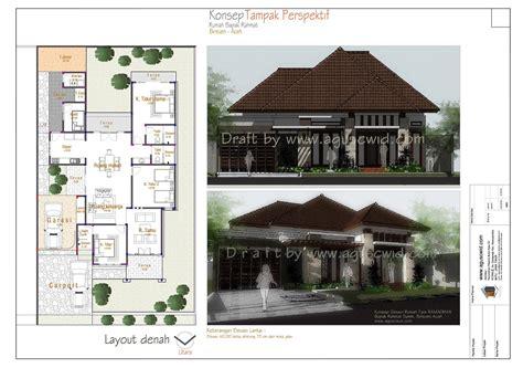 65 desain rumah minimalis pada lahan melebar desain
