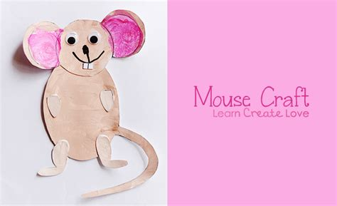 preschool mouse craft printable mouse craft 555
