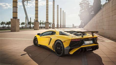 2016 Lamborghini Aventador Lp750-4 Sv Wallpapers & Hd