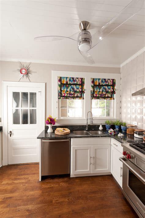 mid century modern chairs ceiling fan in kitchen ideas