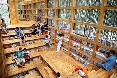 Library Liyuan Beijing China Libraries Creative Unusual
