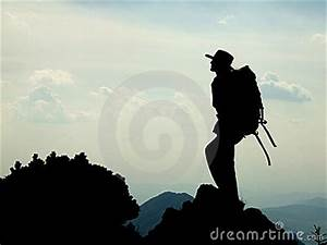 Mountaineer Silhouette Stock Photos - Image: 10347253