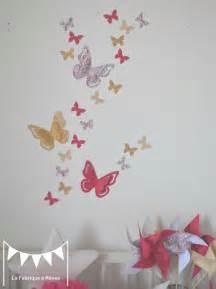 stickers papillon chambre bebe stickers chambre bebe fille papillon