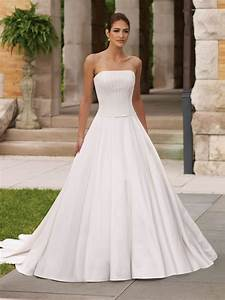 strapless wedding dresses ball gown dresscab With ball gown wedding dress with straps