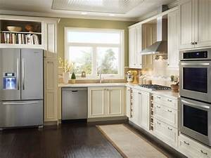 Small kitchen design smart layouts storage photos hgtv for Kitchen cabinets lowes with square wall art set