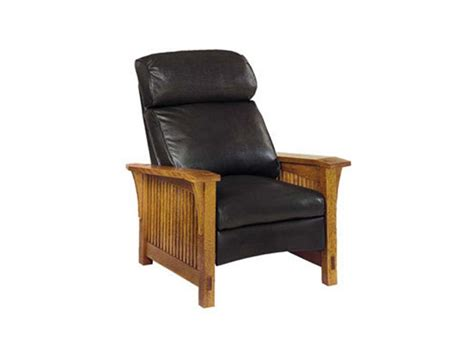 Stickley Furniture Leather Recliner by Stickley Living Room Back Spindle Morris Recliner