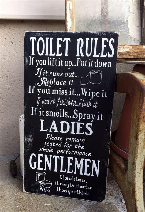 toilet signs ideas  pinterest toilet room