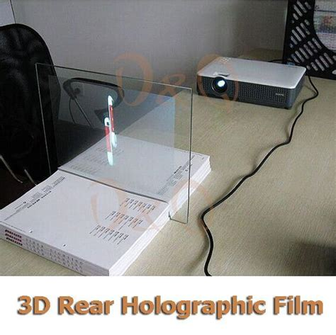 holographic tablet pc  holographic projection pyramid