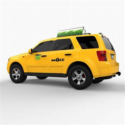 Taxi Suv Cab 3d Max Cgstudio Cgtrader