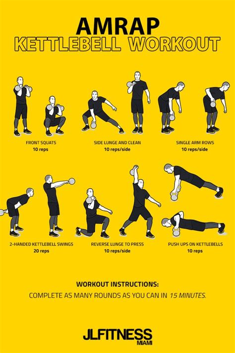amrap kettlebell workout workouts body total exercises jlfitnessmiami veronica vatan photoart360 artigo pins