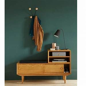 meuble bas d entre cool meuble bas cuisine profondeur cm With awesome meubles d entree vestiaire 8 vestiaire dentree scandinave blanc et chene telma