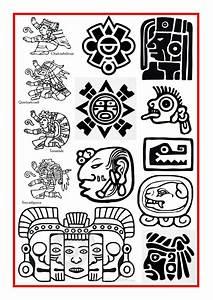 Aztec and Mayan Symbols | Ancient Art Club | Pinterest ...