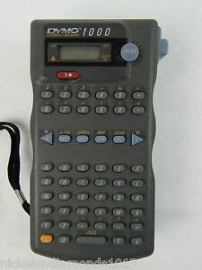 dymo 1000 label maker manual dymo 1000 electronic label maker working pre owned ships today 5411313450218 ebay