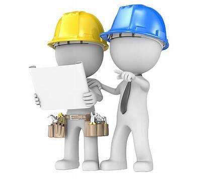Clipart Contractor Plan Building Transparent Construction Equipment