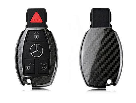 Pinalloy Real Carbon Fiber Remote Keyless Key Cover Case