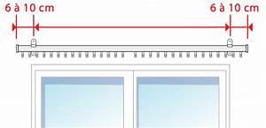 Poser Des Rideaux : comment poser votre tringle rideaux d corative ~ Nature-et-papiers.com Idées de Décoration