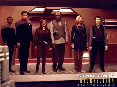 star trek weekly pic daily pic  insurrection cast